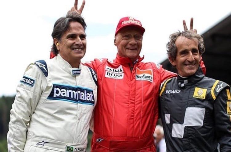 Lauda, Piquet e Prost