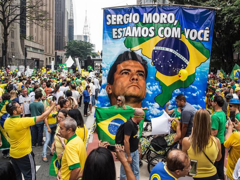 Sérgio Moro manifestações