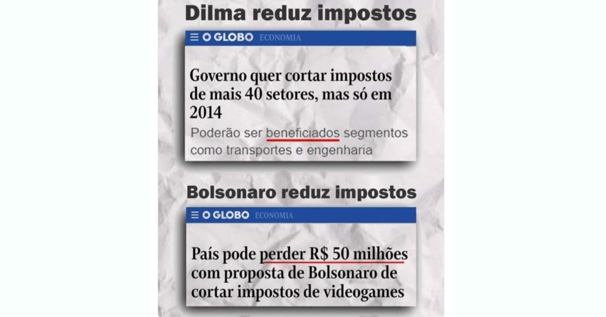 Bolsonaro, Globo, Jornal, Fake News, Dilma