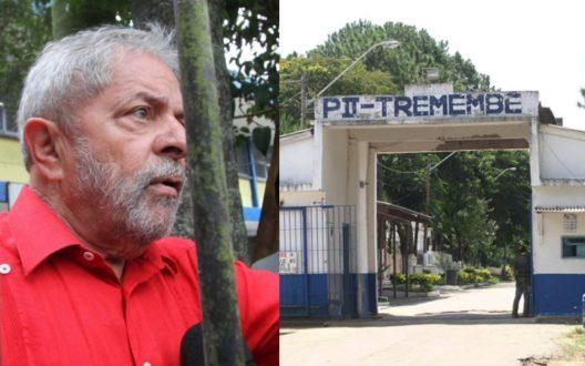 Lula presídio Tremembé