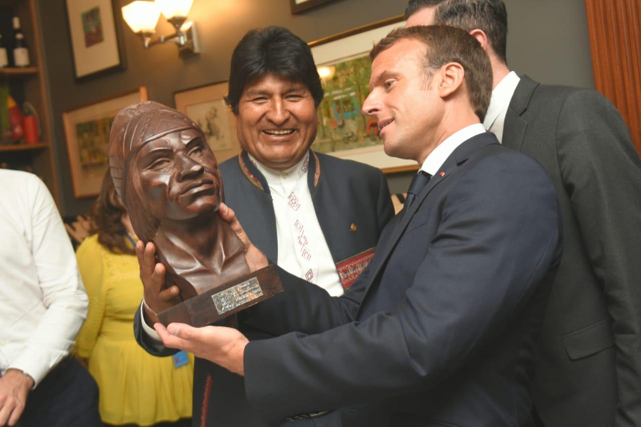 Macron, Evo Moralez, ONU, Amazônia