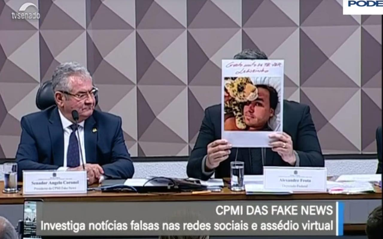 Alexandre Frota Carlos Bolsonaro leãozinho