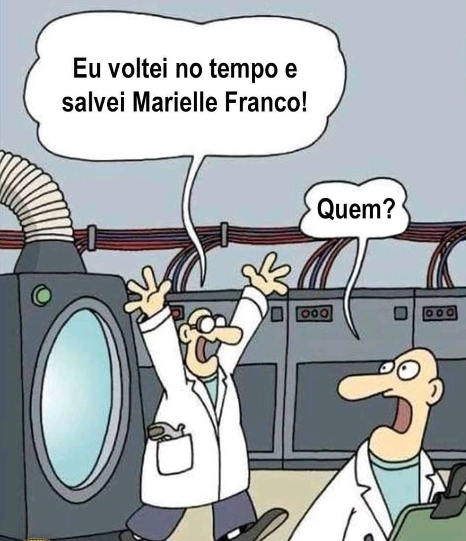 Marielle Franco máquina do tempo