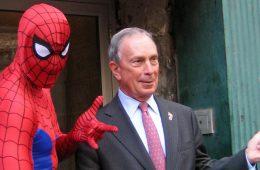 Michael Bloomberg, NOvo, Amoedo, Trump