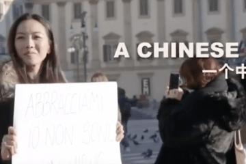 """Milão: Campanha """"Abrace um chinês"""""""