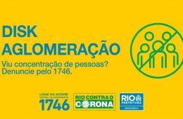 Disk Aglomerações, prefeitura do Rio