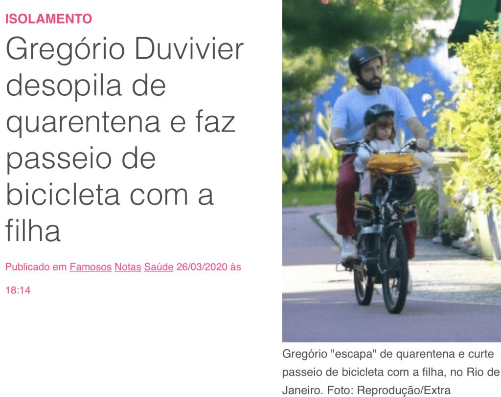 """UOL sobre Gregório Duvivier infringir a lei: """"desopila"""""""