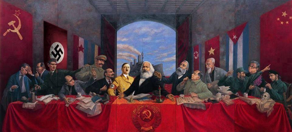 santa ceia ditadores