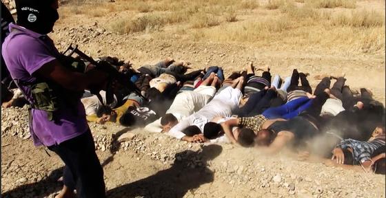 ISIS execução massa