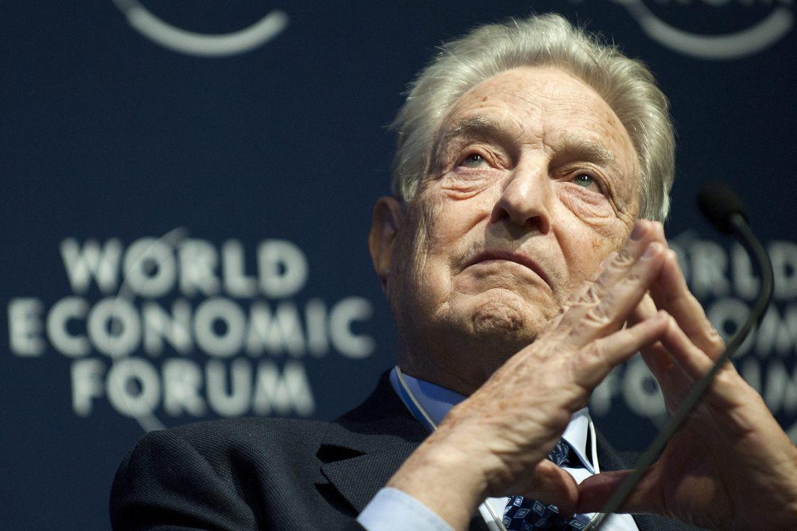 George Soros no Fórum Econômico Mundial (World Economic Forum)