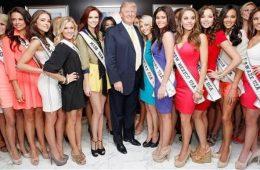 Donald Trump com mulheres