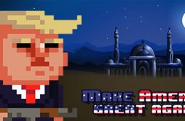 Donald Trump - Make America great again game in pixels