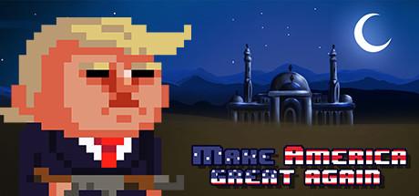 Donald Trump - Make America great again game in pixels