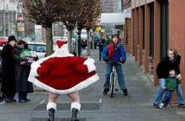 Papai Noel atentado violento ao pudor