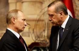 Vladimir Putin e Recip Erdogan