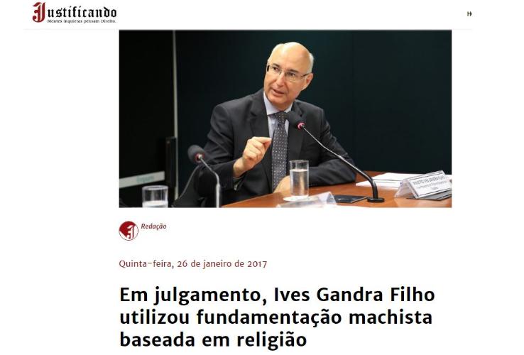 Carta Capital - Justificando - Ives Gandra Filho