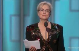 Meryl Streep ataca Donald Trump na entrega do Globo de Ouro