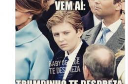 Filho de Donald Trump sofre bullying do jornal O Globo