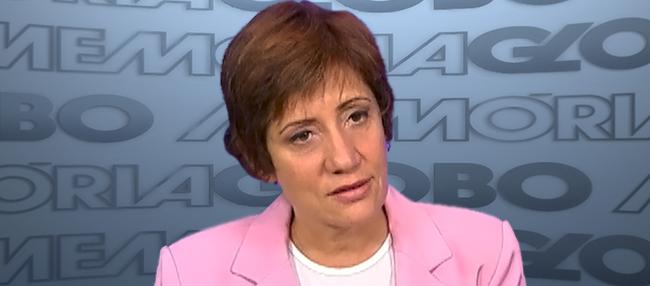 Miriam Leitão - Rede Globo