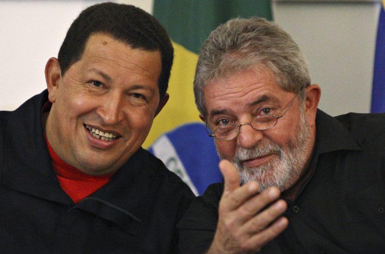 Hugo Chávez e Lula
