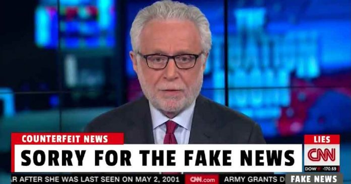"CNN ""Sorry for the fake news"""