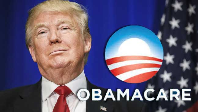 Donald Trump e o plano para acabar com o Obamacare