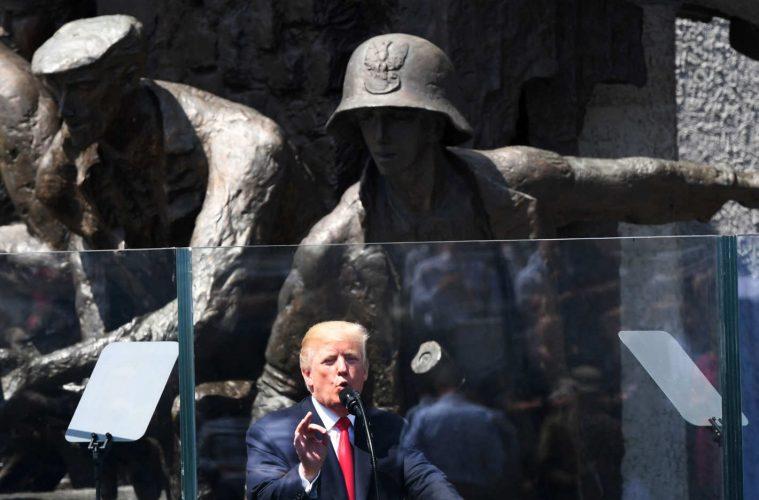 Discurso de Donald Trump na Polônia