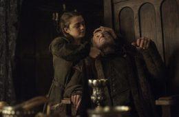 Arya Stark matando em Game of Thrones