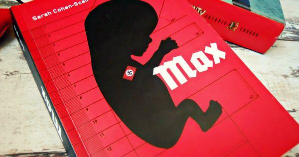 LIvro Max, sobre bebê nazista