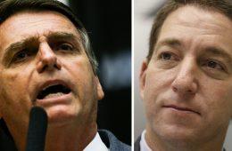Gleen Greenwald ataca Jair Bolsonaro