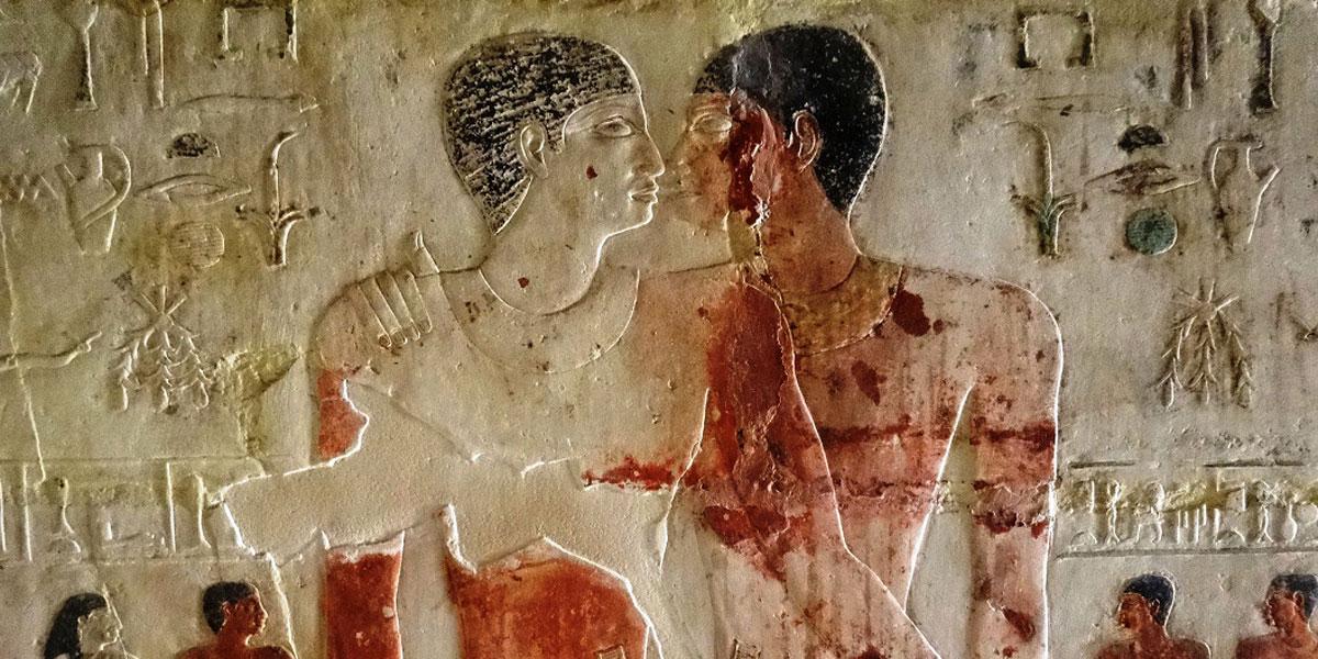 Casal gay no Egito Antigo