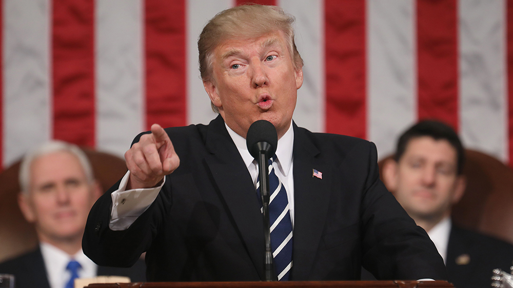 Presidente Donald Trump State of the Union Discurso