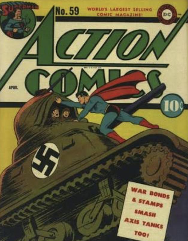 Super-homem é chamado de fascista e nazista pela Folha