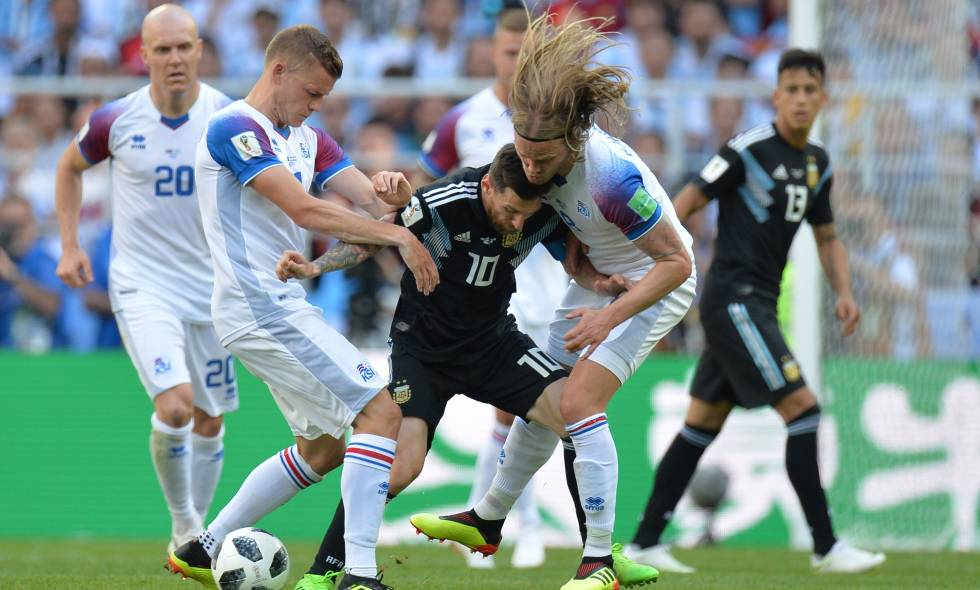 Argentina x Islândia na Copa do Mundo 2018