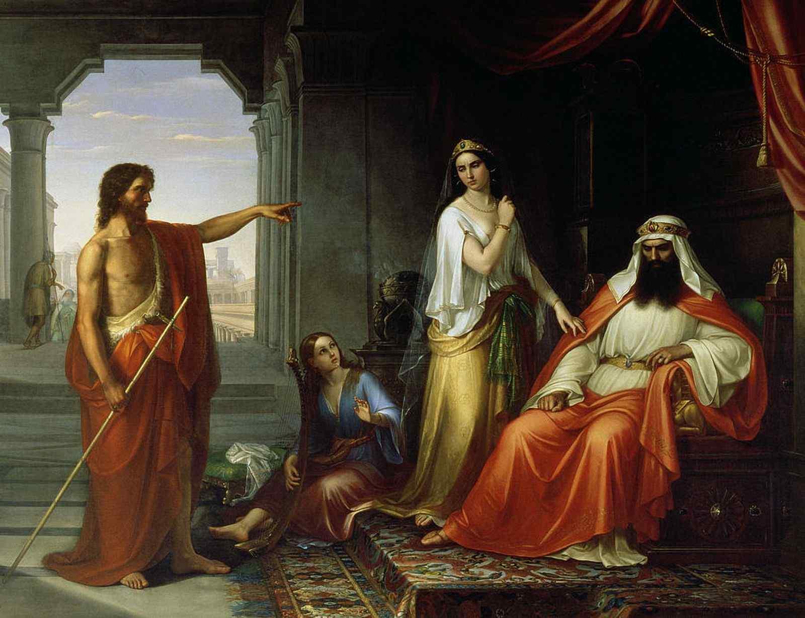 Herodes devolve Jesus a Pilatos