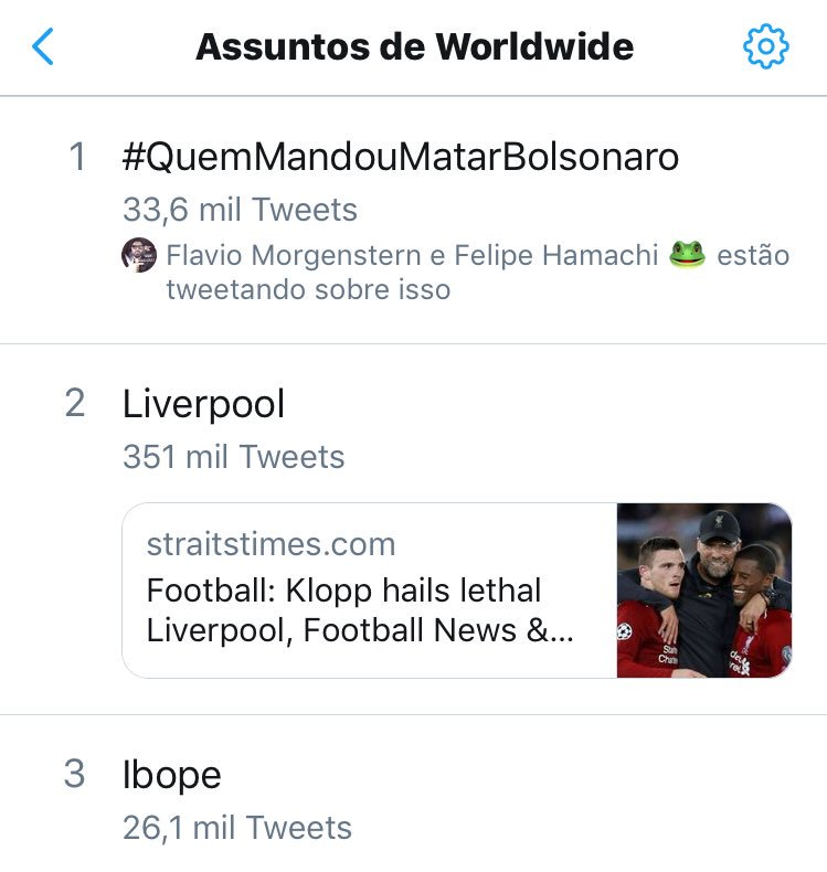 #QuemMandouMatarBolsonaro Twitter