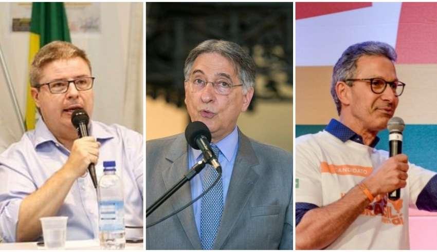 Romeu Zema, Fernando Pimentel, Antonio Anastasia
