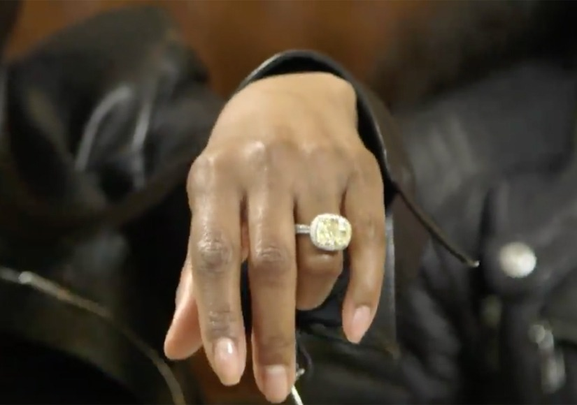 Toni Braxton anel