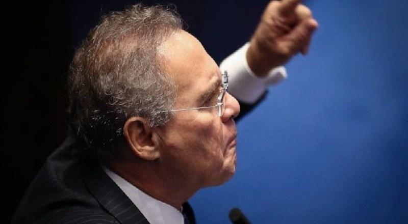 Renan Calheiros descontrolado