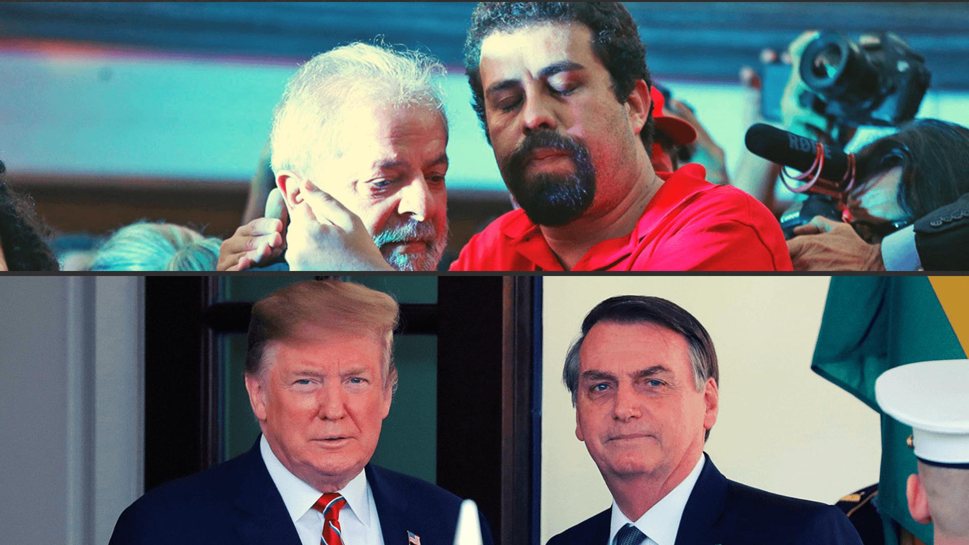 Boulos - Bolsonaro - Trump - Lula