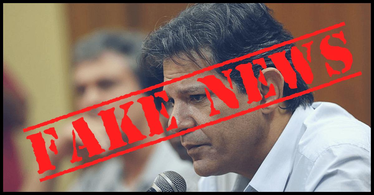 Haddad - Fake News - Google - Multado - Fachin - Bolsonaro