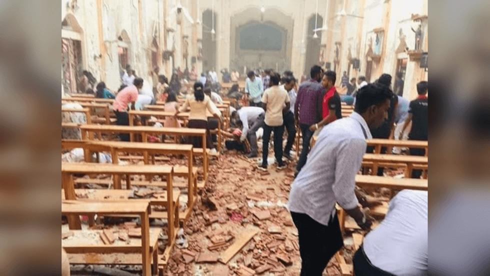 Ataque terrorista no Sri Lanka - Bombas - Pascoa - Igreja Catolica