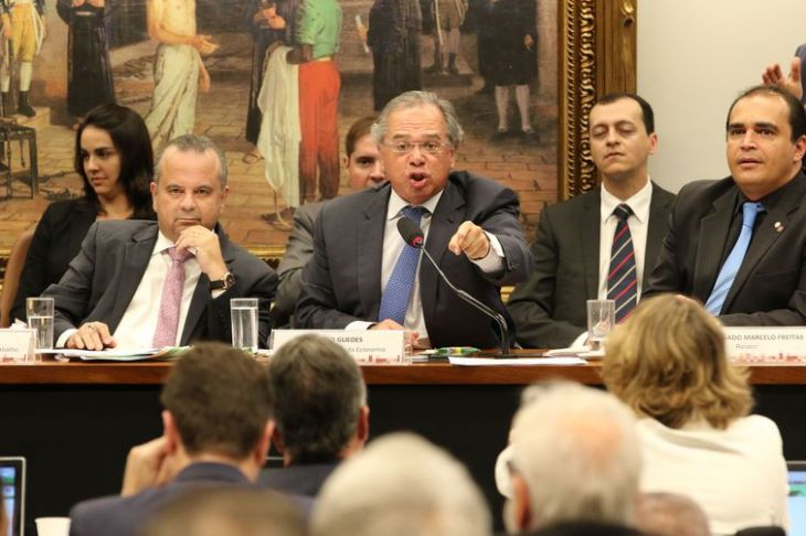 Paulo Guedes CCJ Reforma da Previdência