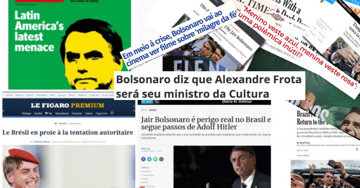 Bolsonaro - imprensa - os primeiros 100 dias - governo