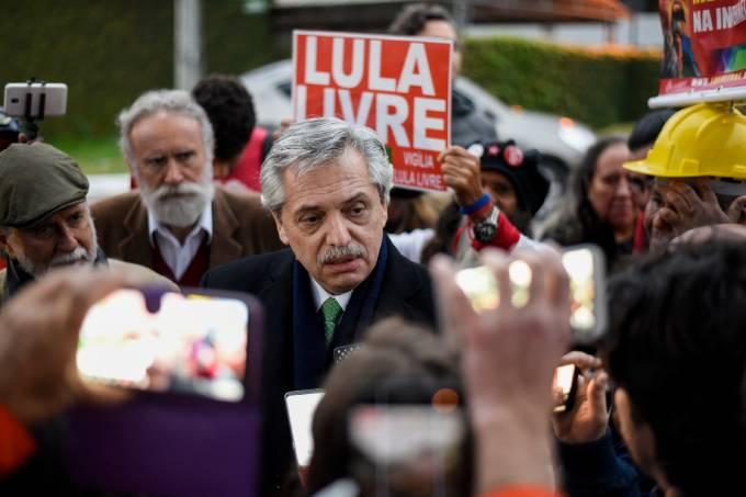 Alberto Fernández, Macri, Bolsonaro, Argentina, Eleições