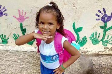 Ketellen Umbelino de Oliveira Gomes, 5 anos, baleada, Rio de Janeiro