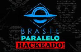 Brasil Paralelo, hackeado