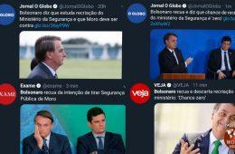midia, recua, bolsonaro, fake news