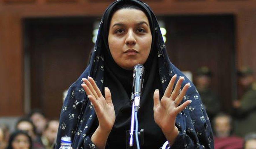 Reyhaneh Jabbari, enforcada, Irã