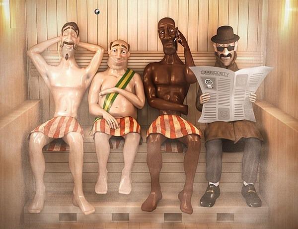 Sauna gay, carta-capital, coronavirus